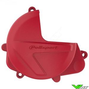 Polisport Clutch Cover Protector Red - Honda CRF450R CRF450RX