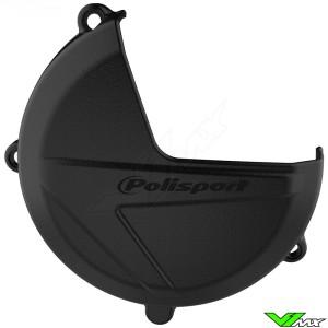 Polisport Clutch Cover Protector Black - Beta RR250-2T RR300-2T Xtrainer300-2T