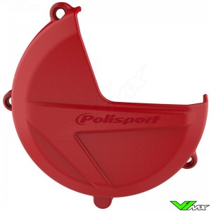 Polisport Clutch Cover Protector Red - Beta RR250-2T RR300-2T Xtrainer300-2T