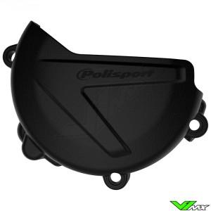 Polisport Clutch Cover Protector Black - Yamaha YZ125