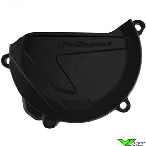 Polisport Clutch Cover Protector Black - Yamaha YZ250 YZ250X