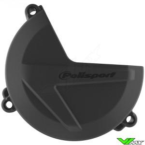 Polisport Clutch Cover Protector Black - Sherco 250SE 300SE 450SEF