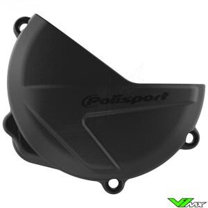 Polisport Clutch Cover Protector Black - Honda CRF250R CRF250RX