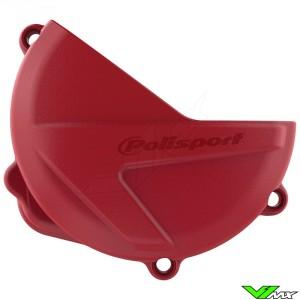 Polisport Clutch Cover Protector Red - Honda CRF250R CRF250RX