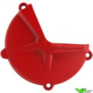 Polisport Clutch Cover Protector Red - GasGas EC250 EC300 XC250 XC300