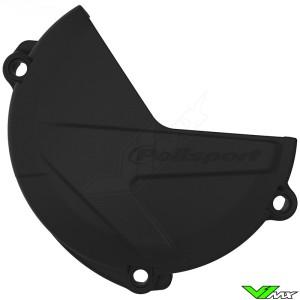 Polisport Clutch Cover Protector Black - Yamaha YZF250 YZF250X WR250F