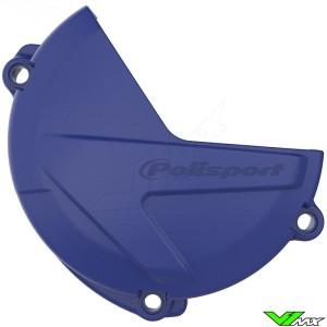 Polisport Clutch Cover Protector Blue - Yamaha YZF250 YZF250X WR250F