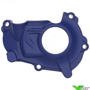 Polisport Ignition Cover Protector Blue - Yamaha YZF450 YZF450X