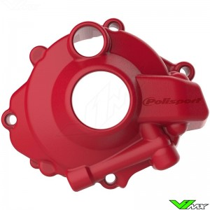 Polisport Ignition Cover Protector Red - Honda CRF250R CRF250RX