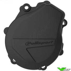 Polisport Ignition Cover Protector Black - KTM 450EXC 500EXC Husqvarna FE450 FE501