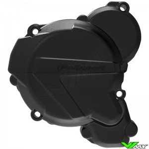 Polisport Ignition Cover Protector Black - KTM 250EXC 300EXC Husqvarna TE250 TE300
