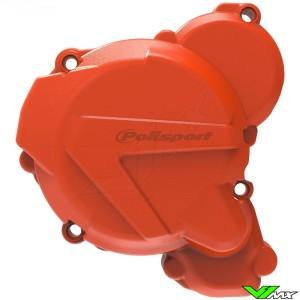 Polisport Ignition Cover Protector Orange - KTM 250EXC 300EXC