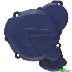 Polisport Ignition Cover Protector Blue - Husqvarna TE250 TE300