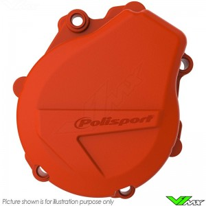 Polisport Ignition Cover Protector Orange - KTM 450EXC 450EXCRallyFactoryReplica 500EXC