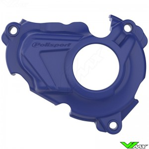 Polisport Ignition Cover Protector Blue - Yamaha YZF250 YZF250X WR250F