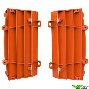 Polisport Radiator Louvers Orange - KTM