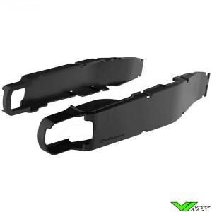 Polisport Swingarm protector Black - TM MX450Fi MX530Fi EN450Fi EN530Fi