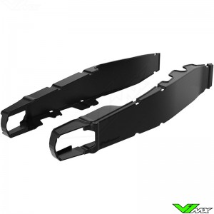 Polisport Swingarm protector Black - Honda CRF250R CRF450R CRF250RX CRF450RX