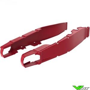 Polisport Swingarm protector Red - Honda CRF250R CRF450R CRF250RX CRF450RX