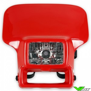 UFO Headlight Red - Honda XR250R XR400R