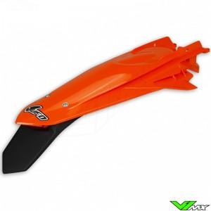 UFO Achterspatbord met LED Achterlicht Oranje - KTM 150EXC 250EXC 300EXC 450EXC 500EXC 250EXC-F 350EXC-F