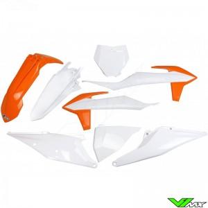 UFO Plastic Kit OEM 20 - KTM 125SX 150SX 250SX 250SX-F 350SX-F 450SX-F