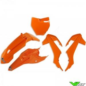 UFO Plastic Kit Orange - KTM 65SX