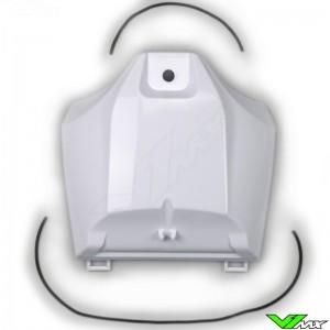 UFO Tank Cover White - Yamaha YZF250 YZF450 WR250F WR450F
