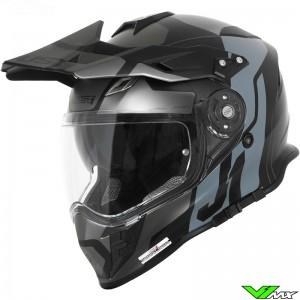 Just1 J34 Enduro helm - Zwart / Grijs