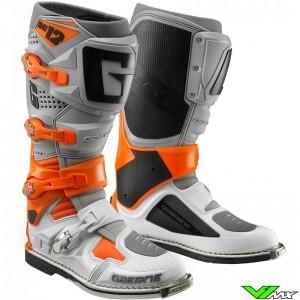 Gaerne SG-12 Crosslaarzen - Oranje / Grijs / Wit