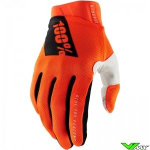100% Ridefit 2021 Crosshandschoenen - Oranje