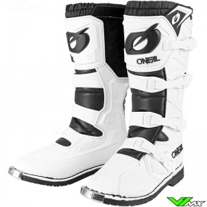 Oneal Rider Pro Motocross Boots - White