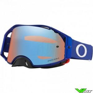 Oakley Airbrake Motocross Goggle - Blue / Prizm Sapphire Lens