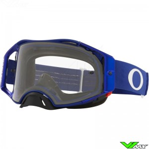 Oakley Airbrake Crossbril - Blauw / Clear Lens