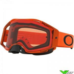 Oakley Airbrake Motocross Goggle - Orange / Prizm Bronze Lens
