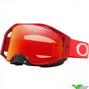 Oakley Airbrake Crossbril - Rood / Prizm Torch Lens
