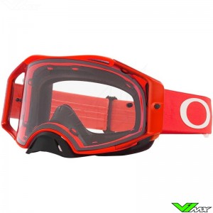 Oakley Airbrake Motocross Goggle - Red / Clear Lens