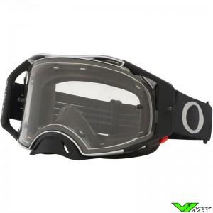 Oakley Airbrake Motocross Goggle - Tuff Blocks Gunmetal / Clear Lens