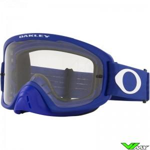 Oakley O Frame 2.0 Pro MX Motocross Goggle - Blue / Clear Lens