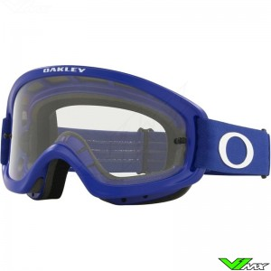 Oakley XS O Frame 2.0 Pro MX Youth Motocross Goggle - Blue / Clear Lens