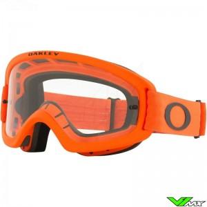 Oakley XS O Frame 2.0 Pro MX Youth Motocross Goggle - Orange / Clear Lens
