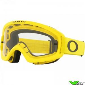 Oakley XS O Frame 2.0 Pro MX Kinder Crossbril - Geel / Clear Lens