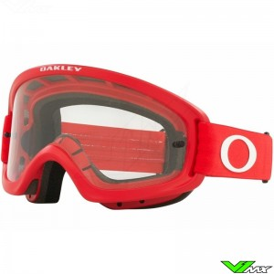 Oakley XS O Frame 2.0 Pro MX Youth Motocross Goggle - Red / Clear Lens