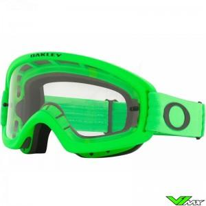 Oakley XS O Frame 2.0 Pro MX Kinder Crossbril - Groen / Clear Lens
