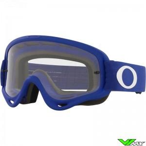 Oakley O Frame Motocross Goggle - Blue / Clear Lens