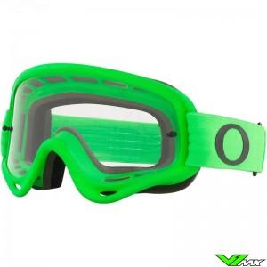Oakley O Frame Motocross Goggle - Green / Clear Lens