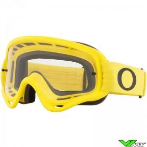 Oakley O Frame Motocross Goggle - Yellow / Clear Lens
