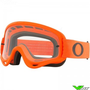 Oakley O Frame Motocross Goggle - Orange / Clear Lens