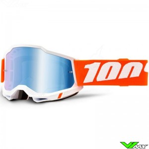 100% Accuri 2 Sevastopol Motocross Goggle - Mirror Blue Lens