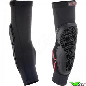 Alpinestars Bionic Flex Elbow Protector - Black / Red